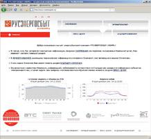 Дизайн сайта компании «Русэнергосбыт Сибирь»